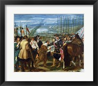 Framed Surrender of Breda, 1625