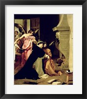 Framed Temptation of St.Thomas Aquinas