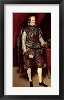 Framed Philip IV