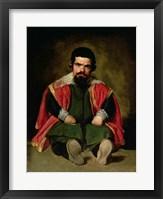 Framed Don Sebastian de Morra