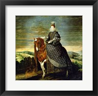 Framed Portrait of Queen Margaret of Austria