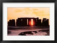 Framed Stonehenge, Winter Solstice