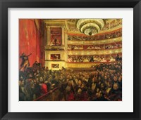 Framed Performance of 'Hernani'