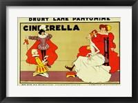 Framed Poster for 'Cinderella'