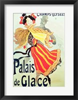Framed 'Ice Palace', Champs Elysees, Paris, 1893
