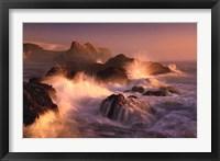 Framed Ocean's Fury
