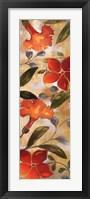 Tropical Delight I Framed Print