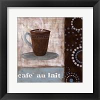 Cafe Au Lait Framed Print
