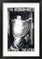 Framed Poster for the stage version of 'The Woman in White'