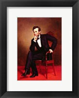 Framed Portrait of Abraham Lincoln