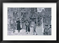 Framed 'The Master Caused us to have some Beere'