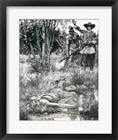 Framed Death of King Philip