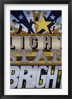 Framed Star Light Star Bright