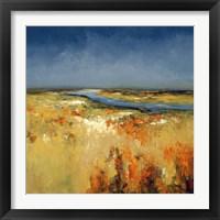 Framed Sunlit Fields