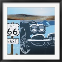 Framed Route 66-A