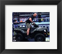 Framed Stone Cold Steve Austin WrestleMania XXVII Action