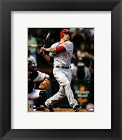 Framed Joey Votto 2011 Action