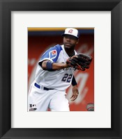 Framed Jason Heyward 2011 Action