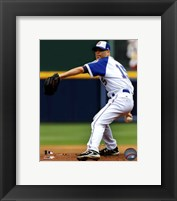 Framed Tim Hudson 2011 Action