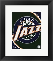 Framed Utah Jazz Team Logo