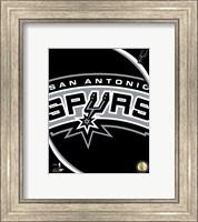 Framed San Antonio Spurs Team Logo