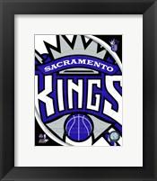 Framed Sacramento Kings Team Logo