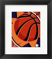 Framed Phoenix Suns Team Logo