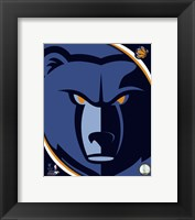 Framed Memphis Grizzlies Team Logo