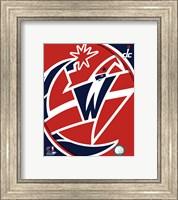 Framed Washington Wizards Team Logo