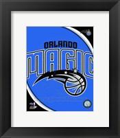 Framed Orlando Magic Team Logo