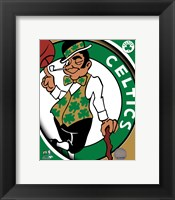 Framed Boston Celtics Team Logo