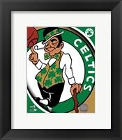 Framed Boston Celtics Team Logo