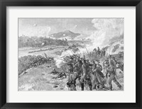 Framed Battle of Resaca, Georgia, May 14th 1864