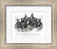 Framed First Colored Senator and Representatives