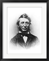 Framed Henry Thoreau