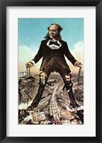 Framed W.H. Vanderbilt as a 'Colossus of Roads'