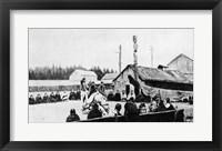 Framed Tribal Meeting