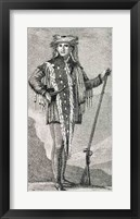 Framed Portrait of Meriwether Lewis