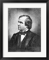 Framed Portrait of Andrew Johnson