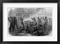 Framed Harper's Ferry Insurrection: Interior of the Engine-House