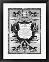 Framed Farewell Address of General Robert E. Lee