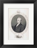 Framed James Monroe