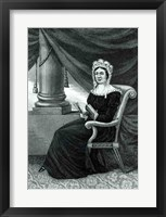 Framed Mrs Rachel Jackson