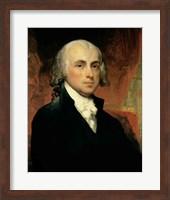 Framed James Madison