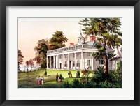 Framed Home of George Washington