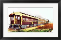 Framed Lightning Express