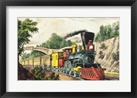 Framed Express Train