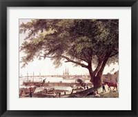 Framed City and Port of Philadelphia