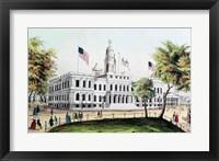 Framed City Hall, New York