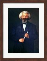 Framed Portrait of Frederick Douglass